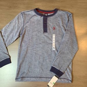 Two NWT US Polo Assn. boys shirts, size 14/16